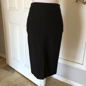 pencil skirt below knees